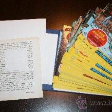 Tebeos: TOMO 3 CAPITÁN TRUENO SIN ENCUADERNAR - TAPAS MÁS MÚMEROS DEL 97 AL 144 - EDICIONES B. Lote 29261746
