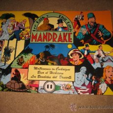 Tebeos: MANDRAKE Nº 11 REEDICION 1992. Lote 29465000