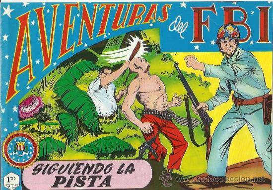 AVENTURAS DEL F.B.I. REEDICIONES FACSIMILARES CUADERNILLOS LOTE (Tebeos y Comics - Tebeos Reediciones)