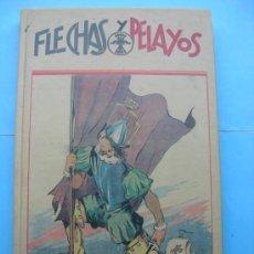 Tebeos: FLECHAS Y PELAYOS - TOMO ENCUADERNADO - VARIOS NÚMEROS - REEDITADO. Lote 30094259