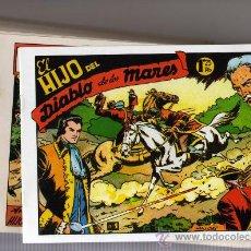Tebeos: COLECCIÓN EL HIJO DEL DIABLO DE LOS MARES. Lote 31136307