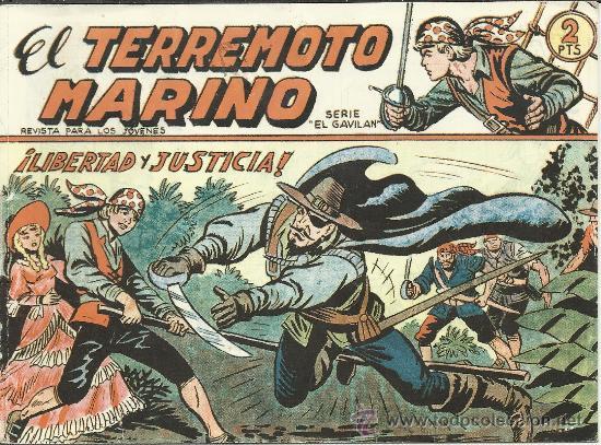 .COLECCION COMPLETA 48 TEBEOS EL TERREMOTO MARINO REEDICION NUEVA .- (Tebeos y Comics - Tebeos Reediciones)