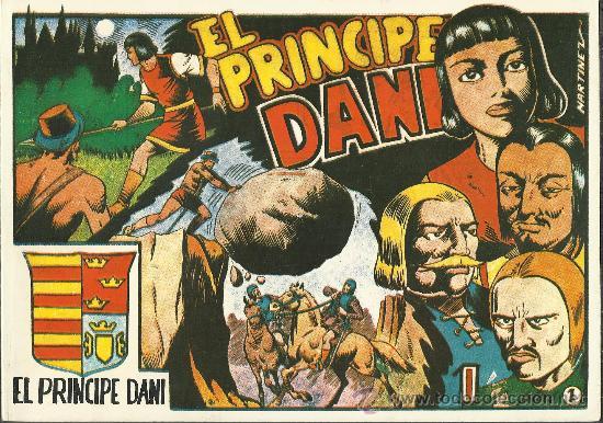 .EL PRINCIPE DANI COLECCION COMPLETA EN 3 TOMOS 28 CUADERNOS REEDICION NUEVA (Tebeos y Comics - Tebeos Reediciones)