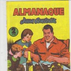 Tebeos: JUAN CENTELLA. ALMANAQUE 1956. REEDICIÓN.. Lote 31269340