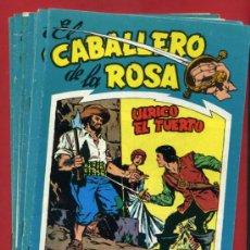 Tebeos: EL CABALLERO DE LA ROSA, COMPLETA , REEDICION , 7 EJEMPLARES, EDICIONES BO. Lote 31576847