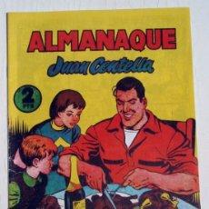 Tebeos: ALMANAQUE JUAN CENTELLA , 1956 , REEDICION. Lote 31602407