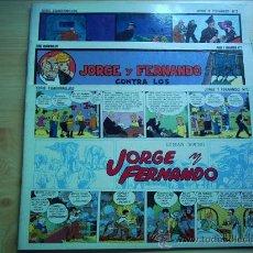 Tebeos: GRANDES CLÁSICOS DEL PASADO. JORGE Y FERNANDO. Lote 33332258
