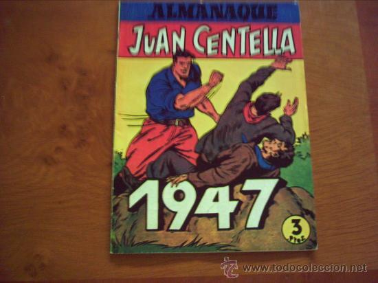 Tebeos: Juan Centella. Colección Audaz. Almanaque mas La Legión del Misterio - Foto 2 - 33551666