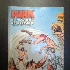 Tebeos: PURK EL HOMBRE DE PIEDRA. NUM 58. APRESADO POR LAS QUIMERAS. SELECCION AVENTURERA EDIVAL. 29.3.1975.. Lote 34496684
