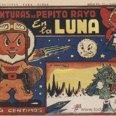 Tebeos: AVENTURAS DE PEPITO RAYO - 18 NÚMEROS - COLECCIÓN COMPLETA, REEDICIÓN . Lote 110636108