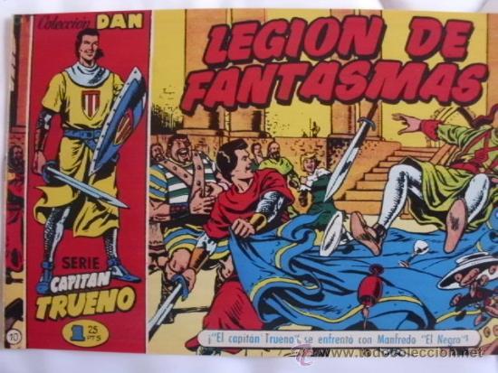 EL CAPITAN TRUENO Nº 10 REEDICION (Tebeos y Comics - Tebeos Reediciones)