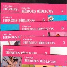 Tebeos: HEROES BIBLICOS, COMPLETA EN 60 EJEMPLARES -EDITA : EDICIONES DON BOSCO ( REEDICION ). Lote 37732604
