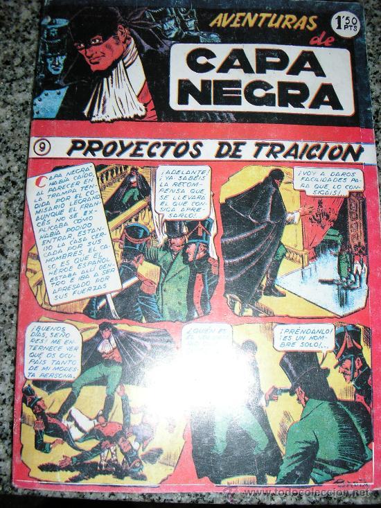 AVENTURAS DE CAPA NEGRA - TOMO Nº 2 (HISTORIAS 9 A 17) - ESPAÑA - COMO NUEVO (Tebeos y Comics - Tebeos Reediciones)