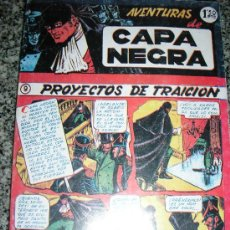 Tebeos: AVENTURAS DE CAPA NEGRA - TOMO Nº 2 (HISTORIAS 9 A 17) - ESPAÑA - COMO NUEVO. Lote 38438927