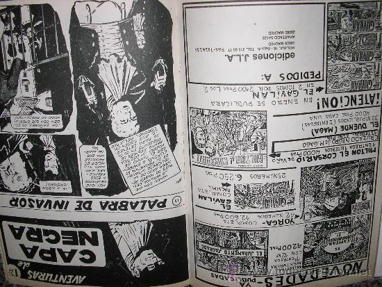 Tebeos: AVENTURAS DE CAPA NEGRA - TOMO Nº 2 (Historias 9 a 17) - ESPAÑA - COMO NUEVO - Foto 3 - 38438927