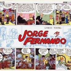 Tebeos: JORGE Y FERNANDO, JOAQUIN ESTEVE / EDITORIAL COMPLOT / EDICIONES EL BOLETÍN COMPLETA 4 Nº. Lote 41488124