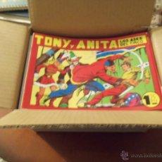 Tebeos: TONY Y ANITA --REEDICION COMPLETA--. Lote 42356047