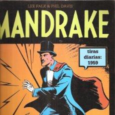 Tebeos: MANDRAKE TIRAS DIARIAS 1959. Lote 42520835