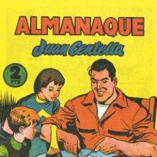 Tebeos: JUAN CENTELLA ALMANAQUE 1956 B14. Lote 43638701