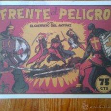 Tebeos: EL GUERRERO DEL ANTIFAZ, FRENTE AL PELIGRO, REEDICIÓN DE GRAN CALIDAD. Lote 44660657