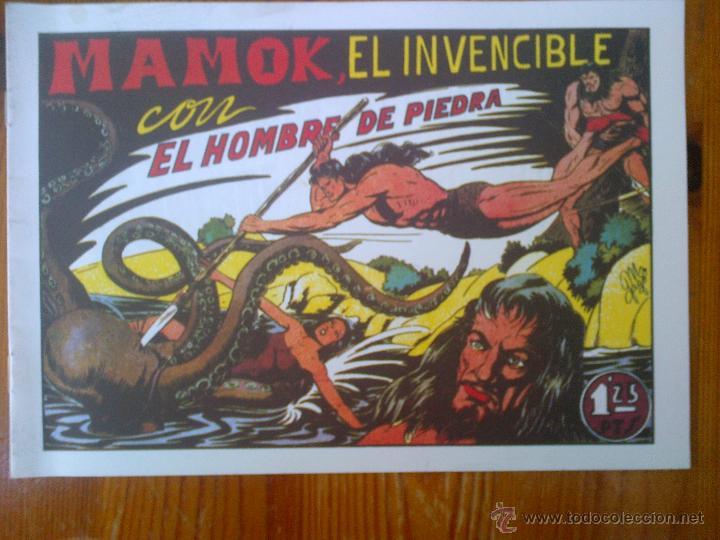 MAMOK EL INVENCIBLE CON EL HOMBRE DE PIEDRA, REEDICIÓN DE GRAN CALIDAD (Tebeos y Comics - Tebeos Reediciones)