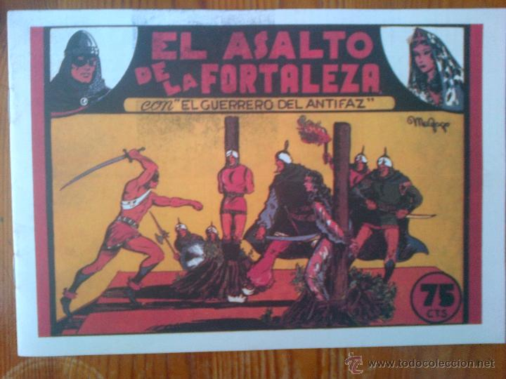 EL GUERRERO DEL ANTIFAZ, REEDICIÓN DE GRAN CALIDAD (Tebeos y Comics - Tebeos Reediciones)