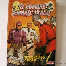 Tebeos: EL HOMBRE ENMASCARADO. EDICION HISTORICA, Nº 17,18,19 Y 20 EN UN SOLO TOMO RETAPADO COMO SELECCION 5. Lote 44852752