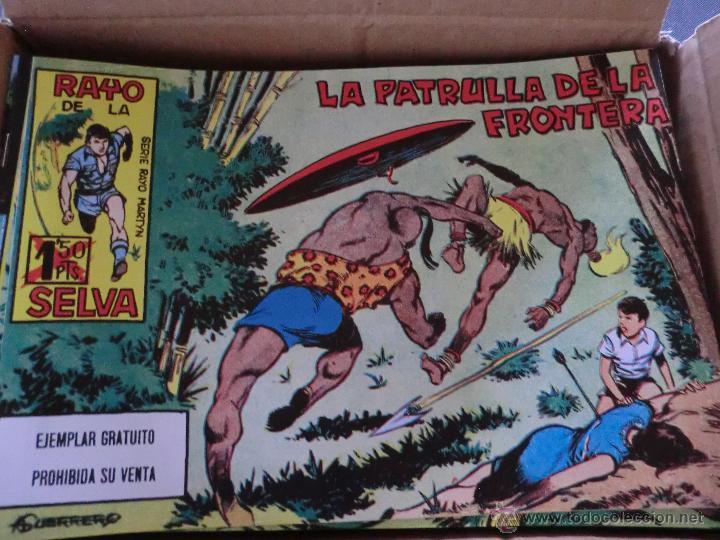 EL RAYO DE LA SELVA ( REEDICION 83 EJEM)COLECCION COMPLETA NUEVA (Tebeos y Comics - Tebeos Reediciones)