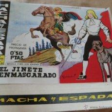 Tebeos: HACHA Y ESPADA ( COLECCION COMPLETA DE 52 NUM) REEDICION. Lote 106069719