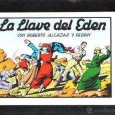 Tebeos: TEBEO FACSIMIL. ROBERTO ALCAZAR Y PEDRIN. LA LLAVE DEL EDEN. Nº 65.. Lote 45496791