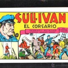 Tebeos: TEBEO FACSIMIL. ROBERTO ALCAZAR. SULLIVAN. EL CORSARIO. Nº 38.. Lote 45496898