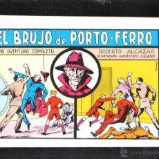 Tebeos: TEBEO FACSIMIL. ROBERTO ALCAZAR. EL BRUJO DE PORTO-FERRO. Nº 36.. Lote 45496923