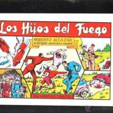 Tebeos: TEBEO FACSIMIL. ROBERTO ALCAZAR. LOS HIJOS DEL FUEGO. Nº 34.. Lote 45496944