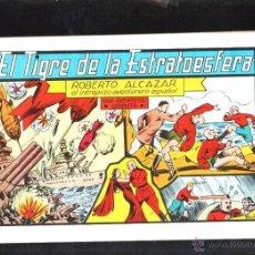Tebeos: TEBEO FACSIMIL. ROBERTO ALCAZAR. EL TIGRE DE LA ESTRATOESFERA. Nº 33.. Lote 45496960