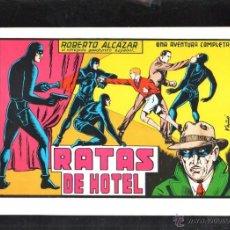 Tebeos: TEBEO FACSIMIL. ROBERTO ALCAZAR. RATAS EN EL HOTEL. Nº 46.. Lote 45497680