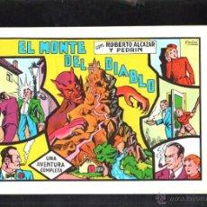 Tebeos: TEBEO FACSIMIL. ROBERTO ALCAZAR Y PEDRIN. EL MONTE DEL DIABLO. Nº 7.. Lote 45497969
