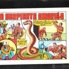 Tebeos: TEBEO FACSIMIL. ROBERTO ALCAZAR. LA SERPIENTE AMARILLA. Nº 5.. Lote 45497993
