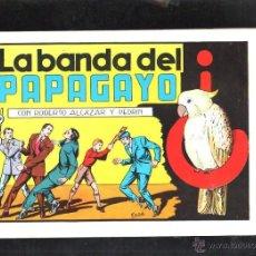 Tebeos: TEBEO FACSIMIL. ROBERTO ALCAZAR Y PEDRIN. LA BANDA DEL PAPAGAYO. Nº 63.. Lote 45507732