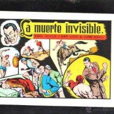 Tebeos: TEBEO FACSIMIL. ROBERTO ALCAZAR Y PEDRIN. LA MUERTE INVISIBLE. Nº 58.. Lote 45507744