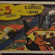 Giornalini: X - 3 Y SU PATRULLA SECRETA, Nº 5. REEDICION. Lote 46332201