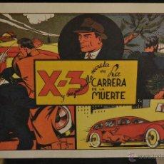 Giornalini: X - 3 Y SU PATRULLA SECRETA, Nº 4. REEDICION. Lote 46332207