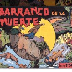 Tebeos: EL BARRANCO DE LA MUERTE REEDICION. Lote 46397065