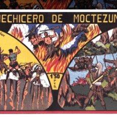 Tebeos: EL HECHICERO DE MOCTEZUMA REEDICION. Lote 46397168