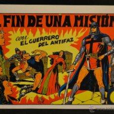 Giornalini: EL GUERRERO DEL ANTIFAZ Nº 63. REEDICION. LITERACOMIC.. Lote 46428972