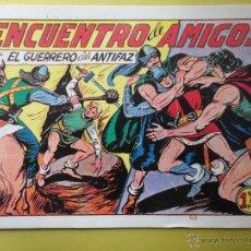 Tebeos: EL GUERRERO DEL ANTIFAZ. Nº 205. Lote 46480296