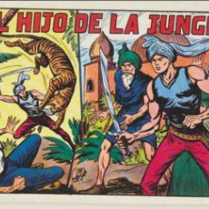 Tebeos: EL HIJO DE LA JUNGLA TOMO 1. CONTIENE LOS EJEMPLARES DEL 1 AL 8. REEDICIÓN.. Lote 46587558