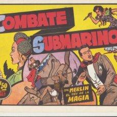 BDs: MERLIN EL REY DE LA MAGIA. COMBATE SUBMARINO.. Lote 43495480