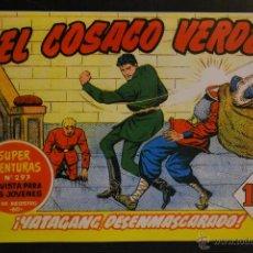 Tebeos: EL COSACO VERDE Nº 6. REEDICION. LITERACOMIC.. Lote 46678650