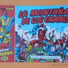 Tebeos: EL CAPITÁN TRUENO. LA MONTAÑA DE LOS ENANOS. COLECCIÓN DAN, 14 - VÍCTOR MORA. Lote 46869142