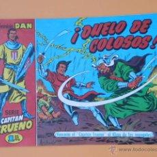 Tebeos: EL CAPITÁN TRUENO. ¡DUELO DE COLOSOS! COLECCIÓN DAN, 22 - VÍCTOR MORA. Lote 46869182